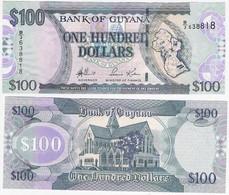 Guyana 100 Dollars ND P 36 UNC - Guyana