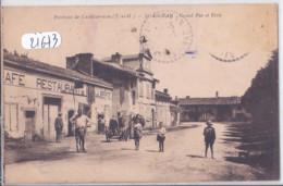 SAINT-AIGNAN- LE CAFE-RESTAURANT DE LA LIBERTE- GRAND RUE ET ECOLE - Castelsarrasin