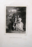 GRAVURE (v. 1860) Les Confessions (2), FRANCE - Stiche & Gravuren