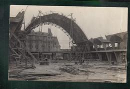 CP - 51 - Reims - Construction Des Halles - Carte Photo - Reims