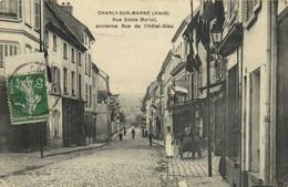 CHARLY SUR MARNE (Aisne) Rue Emile Morlot Ancienne Rue De L'Hotel Dieu Animée RV - Autres Communes