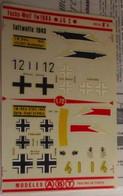 ABT21 Très Rare Décal Années 70 ABT : 1/72e SERIE 1/72e LUFTWAFFE FW 190 1943 ADLER GESCHWADER - Decalcografie