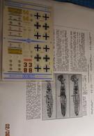ABT21 Très Rare Décal Années 70 ABT : 1/72e SERIE 1/72 MESSERCHMITT 109 JG MARSEILLE + 1 AUTRE - Decalcografie