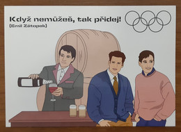 Boomerang Supports Olympic Games Carte Postale - Advertising