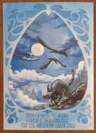 Odin Er Himlens Herre Carte Postale - Advertising
