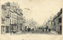 REIMS  Rue De Vesle Animée Pionnière RV - Reims
