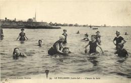 LE POULIGUEN  L' Heure Du Bain Beaux Maillots RV - Le Pouliguen
