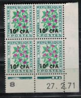 REUNION     N° TAXE  54 Coin Daté 27/02/71   NEUF SANS CHARNIERE - Postage Due