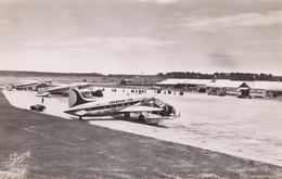 CPA - Aéroport De Bordeaux Mérignac - Viking - Stratoliner Et Languedoc - Aérodromes
