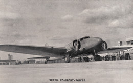 CPA - Boeing 247 - Compagnie United Airlines - 1919-1938: Entre Guerres