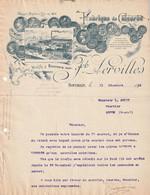 (NORD ) BOUCHAIN ,  Fabrique De Chicorée , Lervilles - 1900 – 1949