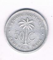 50 CENTIMES 1955 BELGISCH CONGO /6667/ - 1951-1960: Baudouin I