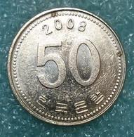South Korea 50 Won, 2008 -4869 - Korea, South
