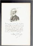 HENRI WELSCHINGER 1846 MUTTERSHOLTZ 1919 VIROFLAY HISTORIEN JOURNALISTE PORTRAIT AUTOGRAPHE BIOGRAPHIE ALBUM MARIANI - Documents Historiques