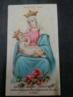 MAGGIO 1901 SIGNORA DELLA STECCATA PARMA  ANCIEN  ANTICO  SANTINO HOLY CARD  IMAGE  PIEUSE    SAINT  Holycard   HEILIG - Devotion Images