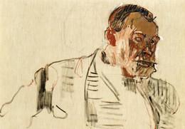 CPM - P - PEINTURE - TABLEAU DE FERDINAND HODLER - AUTOPORTRAIT - ETUDE - VERS 1914 - WINTERTHOUR - HUILE SUR TOILE - Peintures & Tableaux