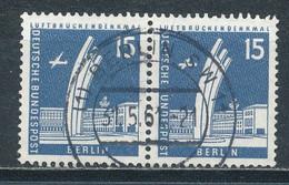 Berlin 145 Waagerechtes Paar Gestempelt Mi. 30,- - Usados