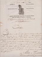 "Heimat CH   TI   BELLINZONA  1800  /  Interessantes Dokument  / ""für's Museum"" - ...-1845 Prephilately"