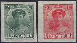 Luxembourg - Luxemburg - Timbre   1922   Charlotte  Série  *   VC. 11,- - 1921-27 Charlotte Voorzijde