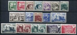 Tunisie      366/382 ** - Unused Stamps