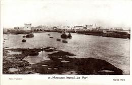 MOGADOR (Maroc) Le Port RV - Altri