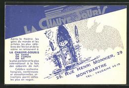 CPA Paris-Montmartre, La Chauve Souris, 29 Rue Henri Monnier - Unclassified