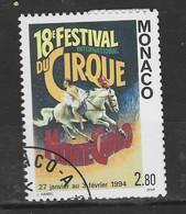 MONACO 1994 Yv 1923 Obli - - Used Stamps