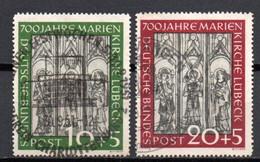 - RFA N° 25/26 Oblitérés - 2 Valeurs Cathédrale De Lübeck 1951 - Cote 190,00 € - - Used Stamps