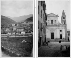 2 Photos -  SOSPEL  (06)   Vue D' Ensemble -  L' Eglise - Places