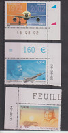 France PA 65,66,et 67 Neuf ** En Coin De Feuille Avec Date - 1960-.... Mint/hinged