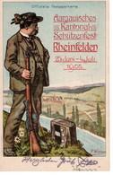 Aargauisches Kontonal Schützenfest Rheinfelden / 25 Juni Au 4 Juli 1905 - AG Argovia