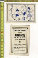 Kl 1791 - Confections Et Mesures DELMOTTE PETIT RONCHIN - CROQUET - Autres