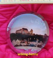 Landshut - Burg Trausnitz Alter Glas Briefbeschwerer Ca. 1900 Bis 1920 - Briefbeschwerer