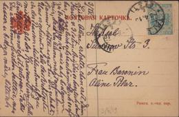 Estonie YT N°2 Bleu Vert Non Dentelé CAD Tallinn Eesti 3 4 1919 - Estonie