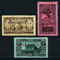 Alaouites (Francés) Nº Tasa-6/8 - Unused Stamps