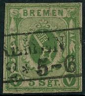 Oblit. N°4 5s Vert - TB - Bremen