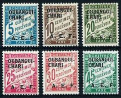 Ubangui (Francés) Nº Tasa-1/6 - Unused Stamps