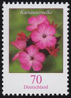 2529 Blumen 70 Cent Nk, Rollenanfang Mit Rückseitiger Nummer 200, ** - Rolstempels
