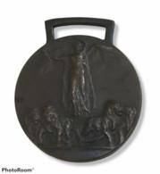 00560 Medaglia Orsolini - Grande Guerra Per La Civiltà 1914-18 Ai Combattenti - Italia