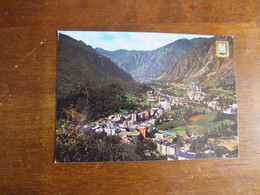 N°107 VALLS D'ANDORRA Alt. 1029 M.  Andorra La Vella - Les Escaldes - Andorre