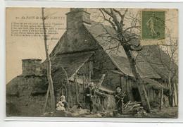 19 Au Pays De CHABRETTE Famille Villageoise Coupant Du Bois écrite 1918 De  Malmoert Pres Brives     D04 2020 - Zonder Classificatie