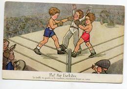 """ENFANTS Sport  Un Combat De BOXE """" Paf Sur L'Arbitre """"     D05 2020 - Unclassified"""