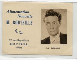 83 BANDOL Petit Calendrier 1948  Offert Par Alimentation Nouvelle BOUTEILLE 32 Rue République     D07 2020 - Bandol
