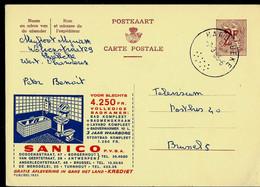 Publibel Obl. N° 1853 ( SANICO - Salle De Bains Moderne) Obl. MARIAKERKE 07/03/66 - Publibels