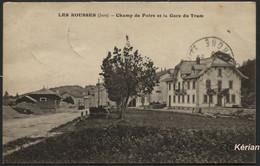 Les Rousses - Champ De Foire Et La Gare Du Tram - C.L.B. - Voir 2 Scans - Other Municipalities