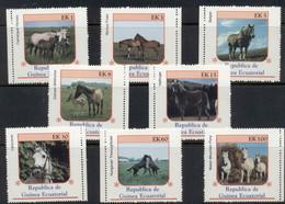 Equatorial Guinea 1976 Horses MUH - Equatoriaal Guinea