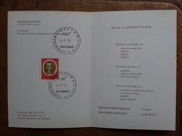 REPUBBLICA - Marcofilia - Onoranze A Vivaldi - Cartoncino Concerto + Spese Postali - F.D.C.