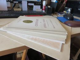 Lot De Documents , DECARIS Et Autre Peut-etre,, Plusieurs Couleurs Differentes à VOIR ET ETUDIER - Collectors