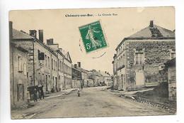 CHEMERY SUR BAR Ardennes La Grande Rue  Animation  ..AD - Altri Comuni