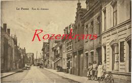 De Panne La Panne Kasteelstraat Rue Du Chateau Geanimeerd ZELDZAAM (In Goede Staat) - De Panne
